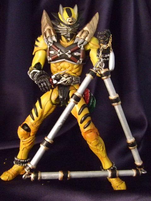仮面ライダー西鬼 えのさん製作の仮面ライダー西鬼です。 細部や武器の作りこみが凄い�ゥ ...